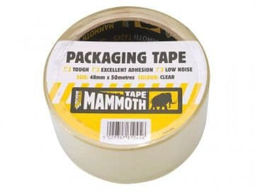 Retail/Labelled Packaging Tape 48mm x 50m Clear